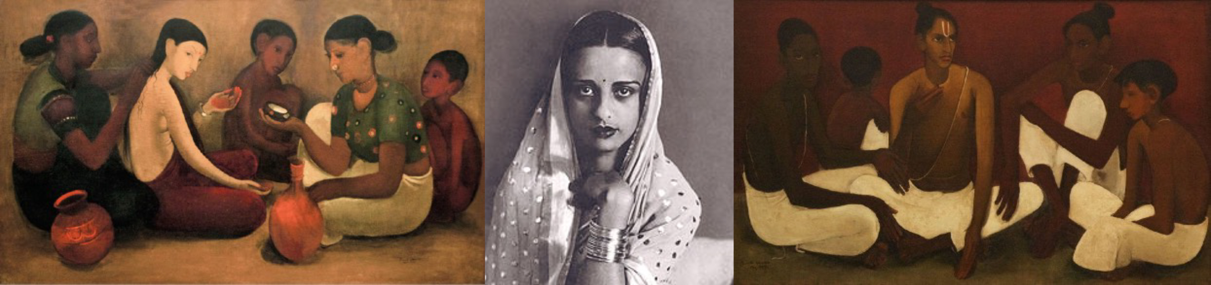 Amrita Sher-Gil - Paintings